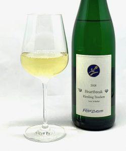 "Hochgewächs ""Heartbreak"" Riesling trocken 2018 mit Glass"
