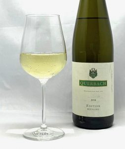 Querbach Edition Riesling 2016 mit Glass
