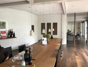 Tasting room of Weingut Ökonomierat Rebholz