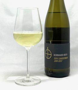 """Bernhard Koch Chardonnay trocken """"Vom Löss"""" 2019 mit Glass"""