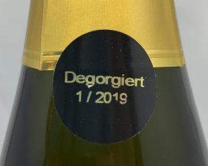 Sekthaus Raumland Rosé Prestige Brut 2012 Dego-seal