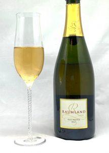 Sekthaus Raumland Rosé Prestige Brut 2012 mit Glass