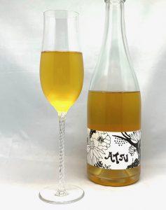 Kumamoto Wine ATSU Kyoho Dry 2019 mit Glass